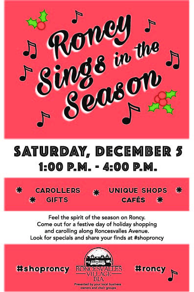 Poster for Roncy Sings in the Season