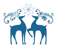 winter-reindeer