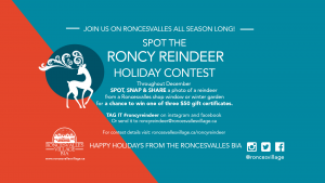 Roncy Reindeer Contest