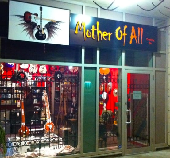 Mother of All Guitar Shop