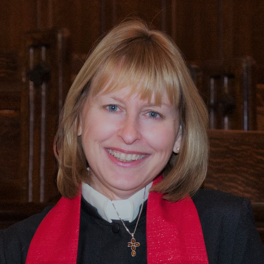 Head shot of Rev. Anne Hines.