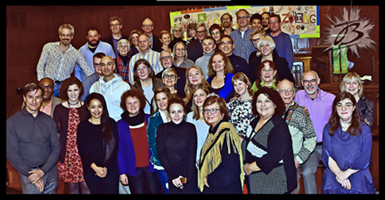 Roncyworks and RVBIA volunteers group photo.