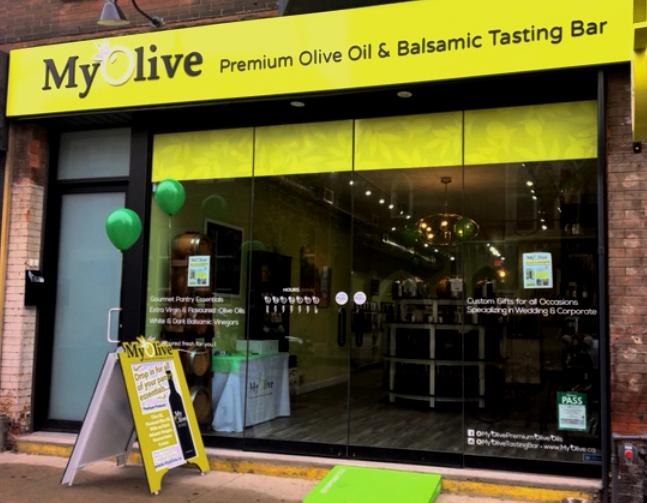MyOlive Premium Olive Oil & Balsamic Tasting Bar
